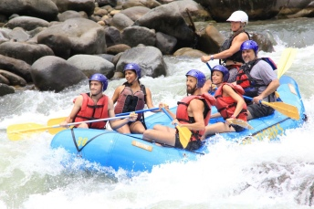 Rafting the Rio Pacuare